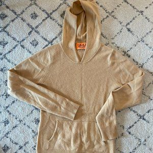 JUICY COUTURE NUDE CASHMERE SWEATER